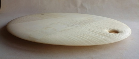 pizza board(18 inch) in rippled sycamore