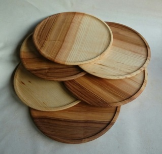 plates in ash