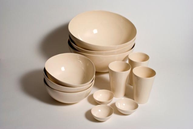 Vanessa Plain Bowls Compr