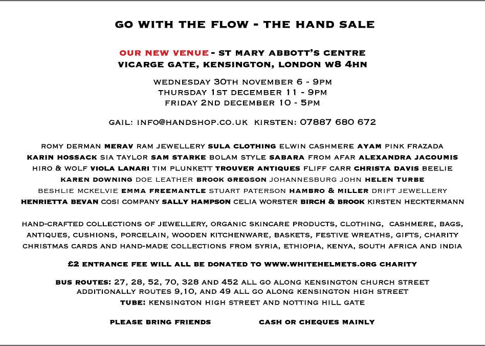The Hand Sale